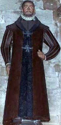 statue of Saint Swithun Wells, date, artist and location unknown; swiped from Santi e Beati