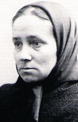 photograph of Venerable Maria Rosa Teresa Gay Tibau c.1880; swiped from Wikimedia Commons