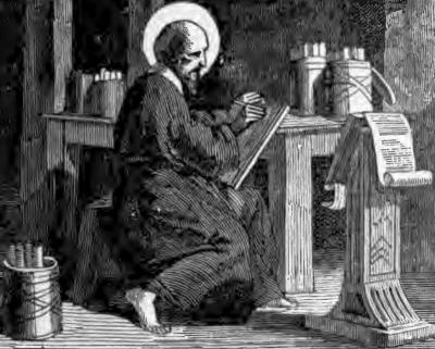 Pictorial Lives of the Saints illustration of Saint Pamphilus of Alexandria