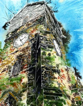©2015-Cathy-Read-Wooden-Tower-of-St-Leonards-Watercolour-and-Acrylic-50-x-40-cm-HR-600.jpg