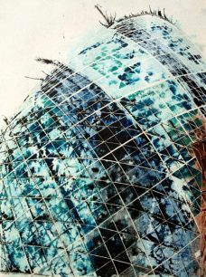 ©2012 - Cathy Read -Touching the sky - Mixed media-75x55cm - £810 unframed