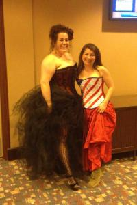 Cat Johnson in a US Flag Corset at RT 13