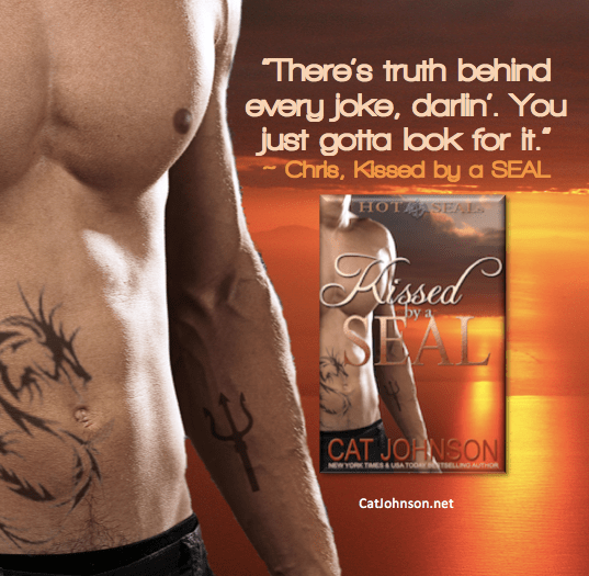 Kissed by a SEAL by Cat Johnson