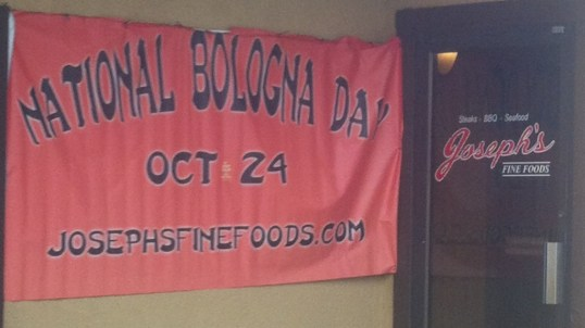 National Bologna Day at Joseph's Fine Food Drumright OK