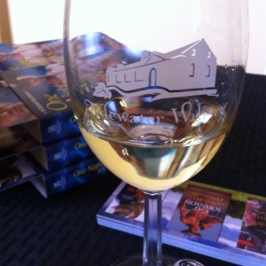 Booksigning at Tidewater Winery, Drumright