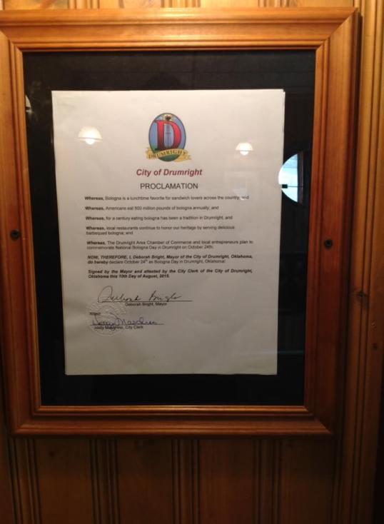 Natl Bologna Day Proclamation