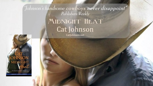 Midnight Heat by Cat Johnson review quote graphic
