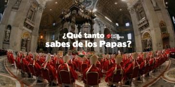 los papas en la iglesia