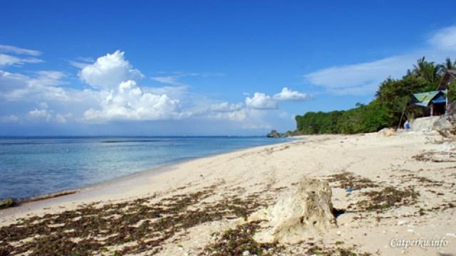 Pantai Terbaik Di Pulau Bali 5 :  Pantai  Padang - Padang ke 2 yang lebih sepi