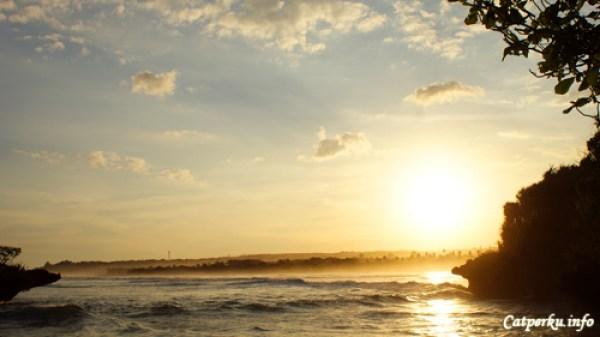 Pemandangan Sunset Terbaik Di Bali No 5, Pantai Nusa Dua
