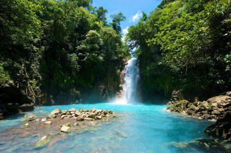 Tenorio Waterfall, Costa Rica