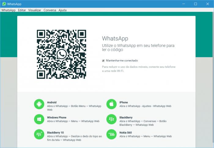 WhatsApp libera versão para Windows e OS X