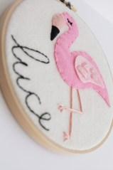 Meditating Flamingo Wall Art