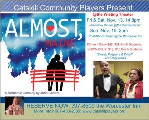 'Almost, Maine' Postcard