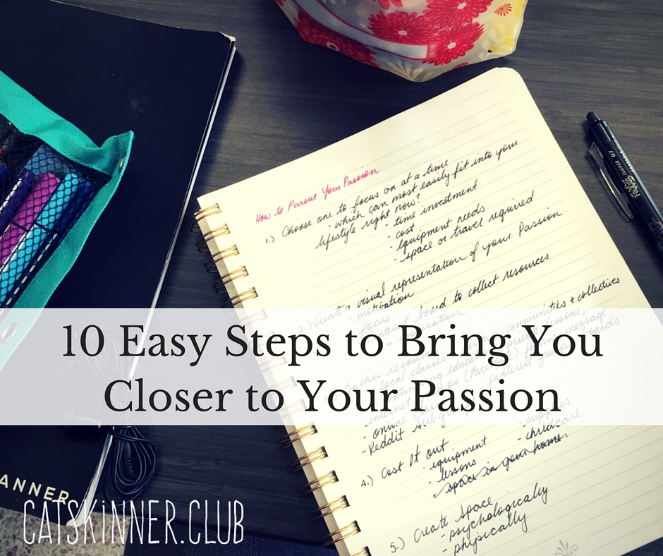10 easy steps to passion