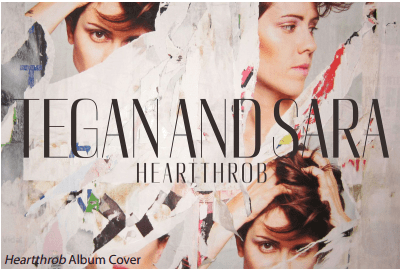 Heartthrob by Tegan and Sara:  ★★★★☆