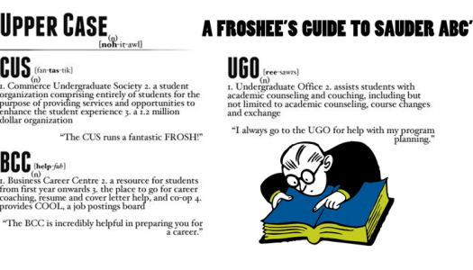 UGO, BCC, CUS, What's the Diff?