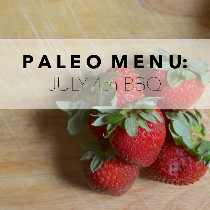 Paleo Menu_July4