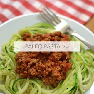The Best Paleo Pasta