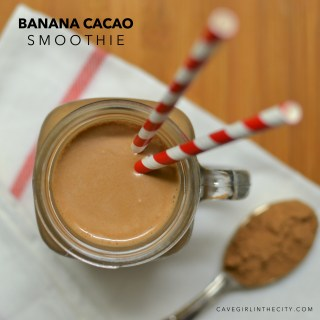 Banana Cacao Smoothie