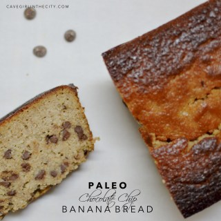 The Best Paleo Chocolate Chip Banana Bread