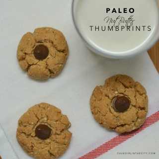Paleo Nut Butter Thumbprints