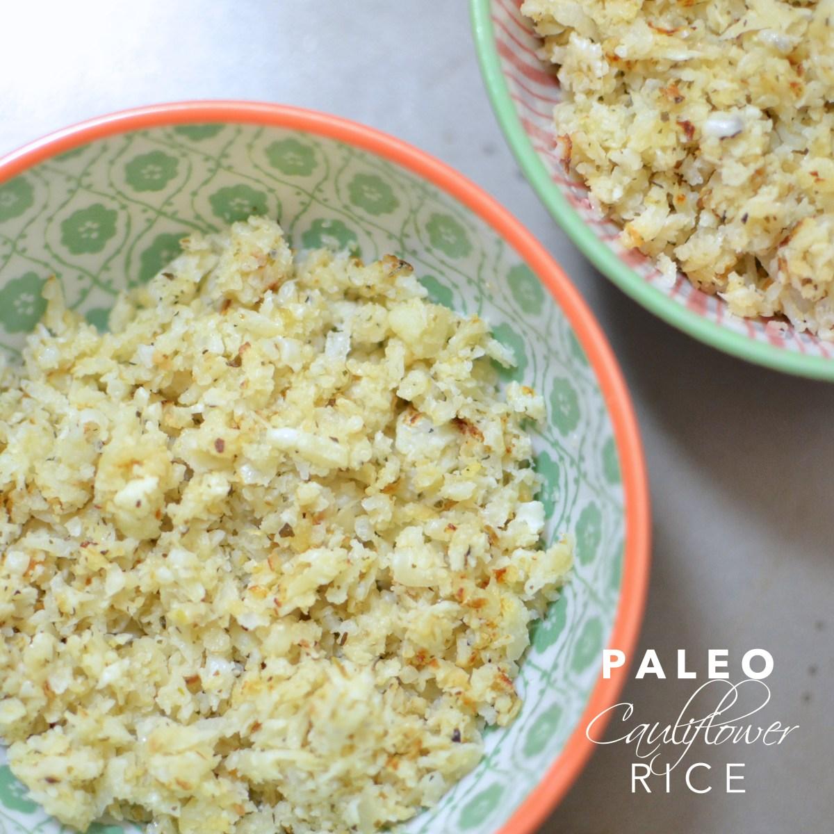 Easy Paleo Cauliflower Rice