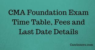 How to Apply For CMA Foundation Exam Dec 2016