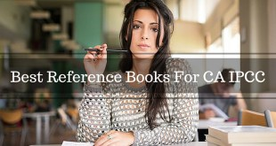 Best IPCC Reference Books For Nov 2016