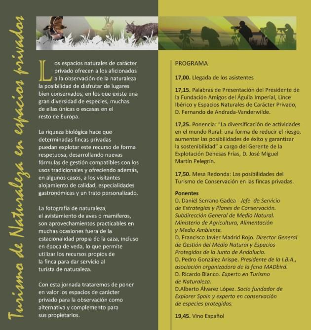 turismo naturaleza fundación amigos del águila imperial
