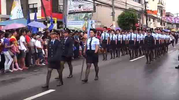Full coverage Peñafrancia 2016 Friday military parade in Naga City