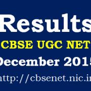 CBSE_UGC_NET_December_2015_Results