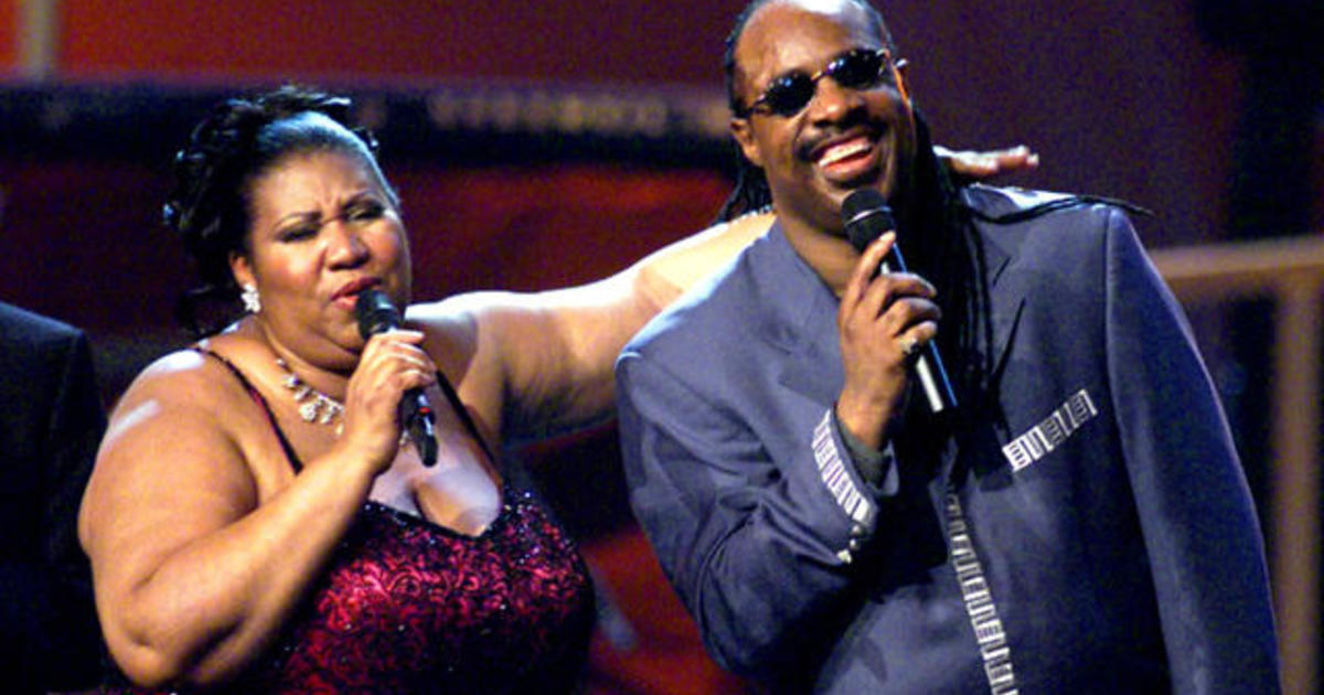 Stevie Wonder reveals his last words to Aretha Franklin  the Queen     Stevie Wonder reveals his last words to Aretha Franklin  the Queen of Soul   before she died   CBS News