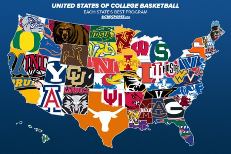 the united states of college basketball top program in