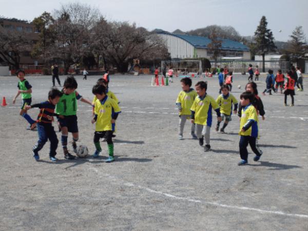 体験サッカー会 開催