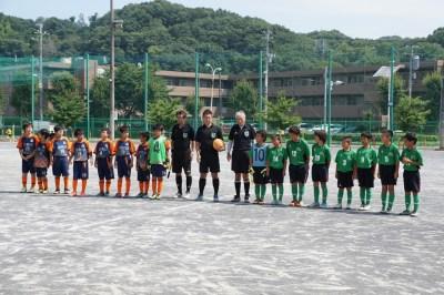 八王子CBXFC杯5年生大会開催