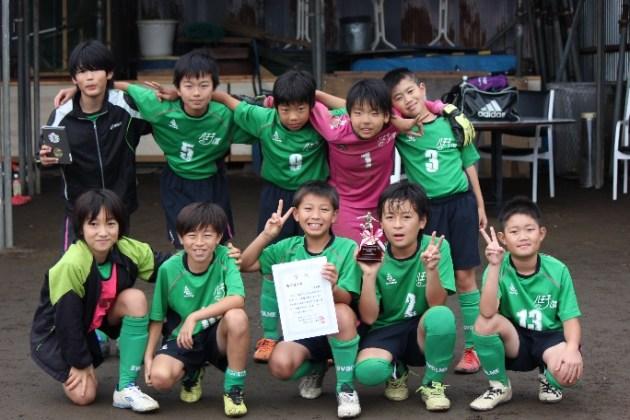 第32回友好都市少年サッカー連盟招待大会(IN忍野村)に出場