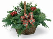 Bark Basket Centerpiece