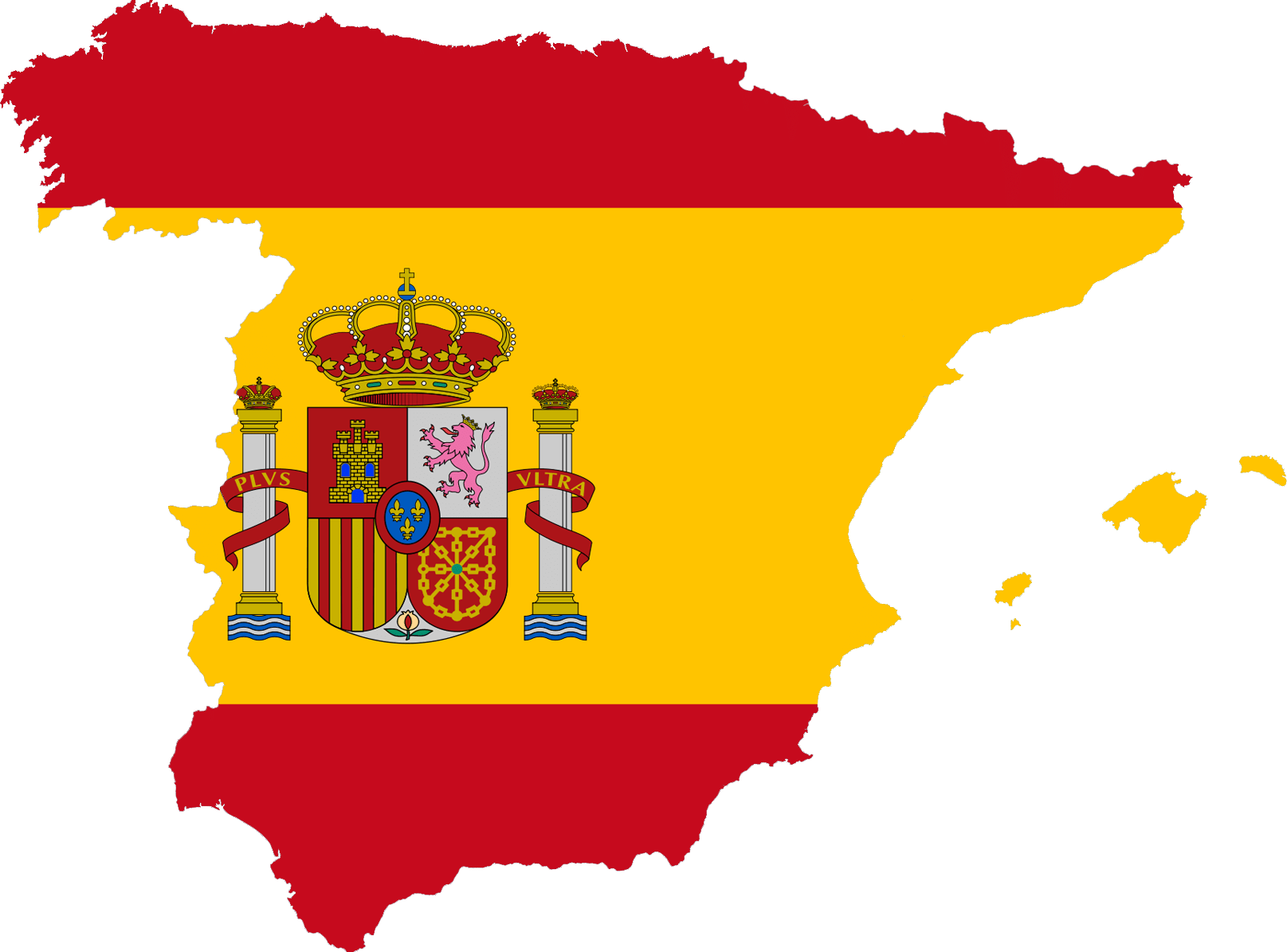 In The European Continent Spain