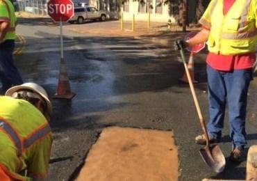 CCWD Crew Repairs Mainline Leak in Arnold: Restores Service to Businesses