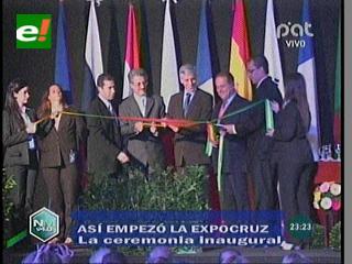 """Expocruz: García Linera pide a privados """"animarse a invertir más"""""""