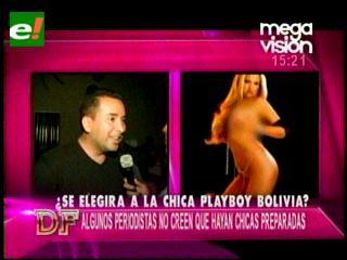 ¿Se elegirá a la chica Playboy boliviana?