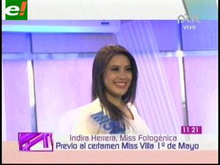Certamen Miss Villa Primero de Mayo entrega títulos previos