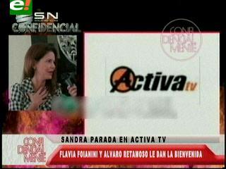 Sandra Parada se une a Activa Tv