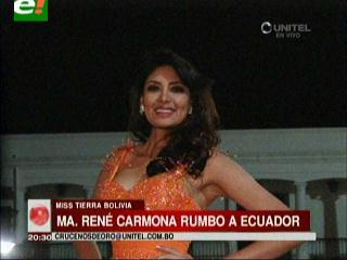 María René Carmona, lista para el Miss Continentes Unidos 2013