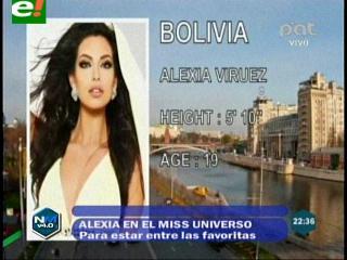 Miss Universo 2013: Bolivia entre las favoritas