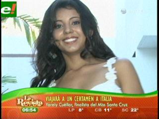 Yarely Cuéllar se va a Italia