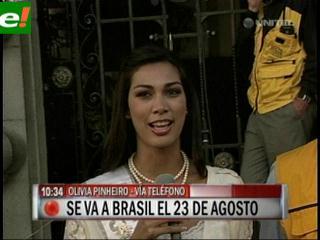 Olivia Pinheiro confirma que nos representará en el Miss Universo 2011