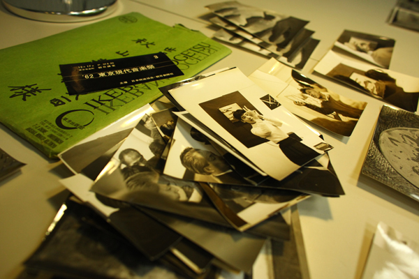 Photographs in MoMA's Gilbert and Lila Silverman Fluxus Collection. Photo: Paula Court.