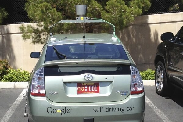 Driver Free Car By Google
